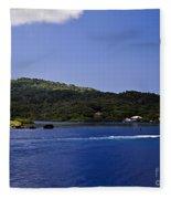 Caribbean Breeze Six Fleece Blanket