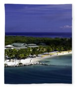 Caribbean Breeze Ten Fleece Blanket