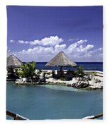 Caribbean Breeze Three Fleece Blanket
