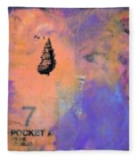 Caribbean Dreams 2 Dyptich Fleece Blanket