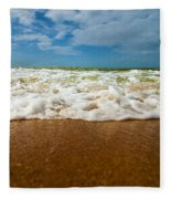 Caribbean Waves Fleece Blanket
