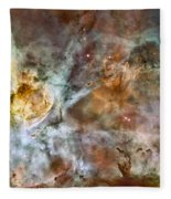 Carina Nebula Fleece Blanket