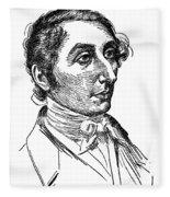 Carl Maria Von Weber (1786-1826) Fleece Blanket