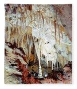 Carlsbad Caverns Fleece Blanket