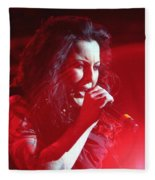 Carly And The Concert Lighting Fleece Blanket