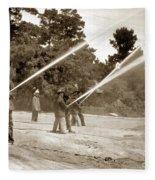 Carmel Fire Department California Circa 1930 Fleece Blanket