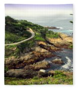 Carmel Highlands Fleece Blanket