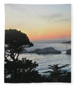 Carmel's Scenic Beauty Fleece Blanket