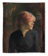 Carmen Gaudin Fleece Blanket