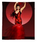 Carmen Amaya Fleece Blanket
