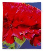 Carnation Carnation Fleece Blanket