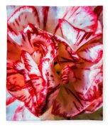 Carnation Watercolor Fleece Blanket