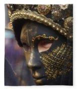 Carnevale Di Venezia 102 Fleece Blanket