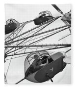 Carnival Ride, 1942 Fleece Blanket