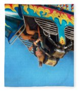 Carnival - Ride - The Thrill Of The Carnival  Fleece Blanket