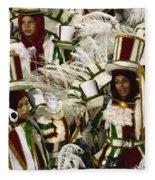 Carnival Rio De Janeiro 15 Fleece Blanket