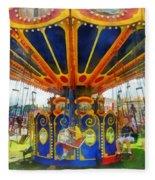 Carnival - Super Swing Ride Fleece Blanket