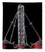 Carnival Towers Fleece Blanket