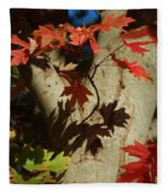 Carolina Autumn Fleece Blanket