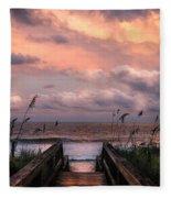 Carolina Dreams Fleece Blanket