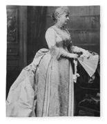 Caroline Lavinia Harrison (1832-1892) Fleece Blanket
