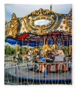 Carousel 3 Fleece Blanket