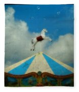Carousel Day Fleece Blanket
