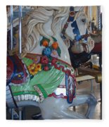 Carousel Horse Fleece Blanket