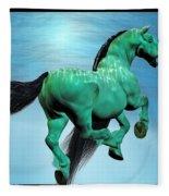 Carousel Iv Fleece Blanket