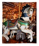 Carousel Fleece Blanket