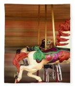 Carousel Rush Fleece Blanket