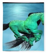 Carousel V Fleece Blanket