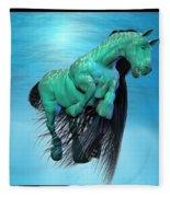 Carousel Xi Fleece Blanket