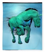 Carousel Xii Fleece Blanket