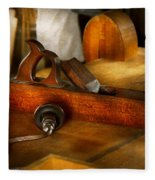 Carpenter - The Humble Shop Plane Fleece Blanket