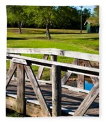 Carpenters Park 2 Fleece Blanket