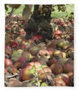 Carpet Of Apples Fleece Blanket