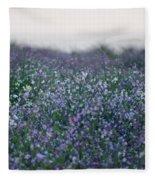 Carpinteria California Wildflowers Fleece Blanket