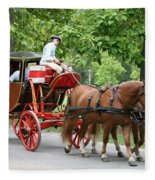 Carriage Fleece Blanket
