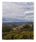 Carrizo Canyon Fleece Blanket
