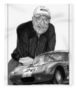Carroll Shelby    Rest In Peace Fleece Blanket