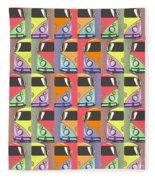 Cars Abstract  Fleece Blanket