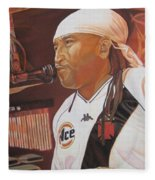 Carter Beauford At Red Rocks Fleece Blanket