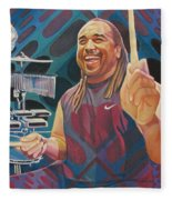 Carter Beauford-op Series Fleece Blanket