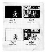 Cartoons Fleece Blanket
