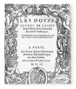 Cartouche, 1551 Fleece Blanket