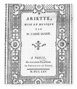 Cartouche, 1765 Fleece Blanket