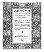 Cartouches, 1534 Fleece Blanket