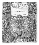 Cartouches, 1572 Fleece Blanket