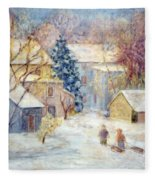 Carversville Snow Fleece Blanket